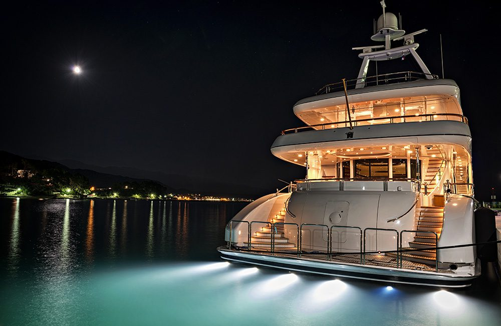 Luxury Yacht protected by Technical Surveillance Counter Measures (TSCM)