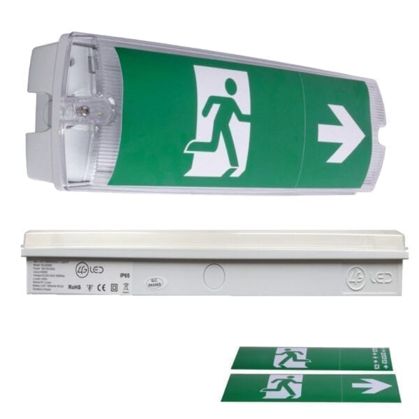 LED Bulkhead, Emergency Light, Maintained Light, LED