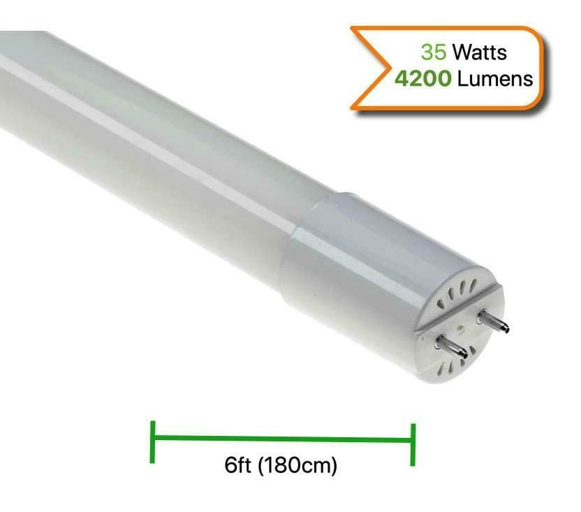 LED slimline batten, T8 LED Tube, 6ft batten, garage light