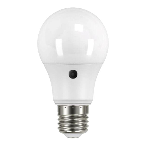 led dusk to dawn sensor lamp, b22 light, bulb, lamp, lantern, led, sensor lamp,