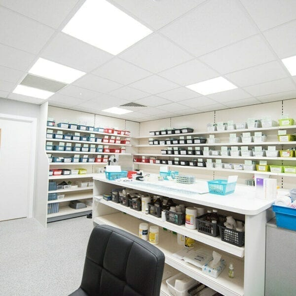 led panel, 600x600, office light, pharmacy light